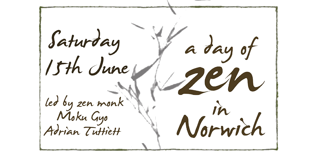 a day of zen in Norwich
