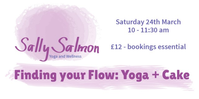 Finding Your Flow: Yoga + Cake