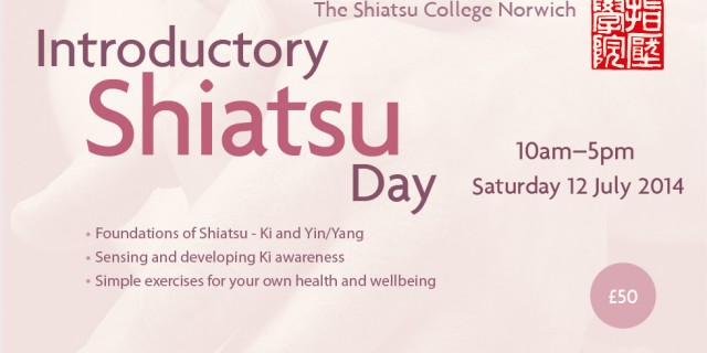 Shiatsu Introduction Day