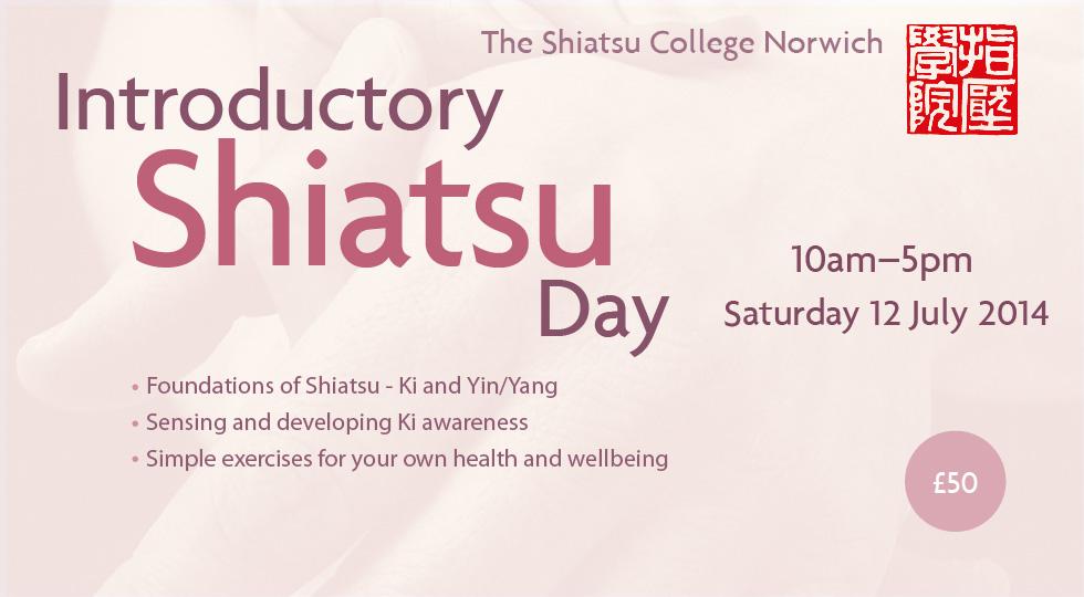 Shiatsu Introduction Day