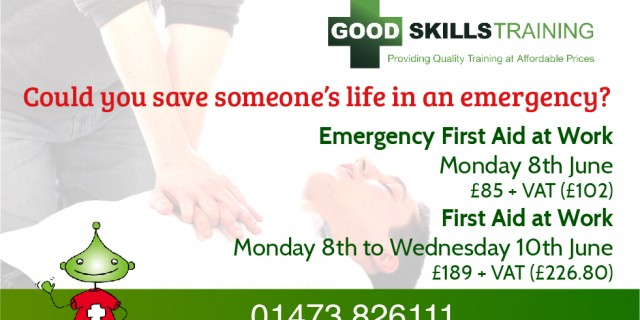 Good Skills First Aid and Emergency First Aid