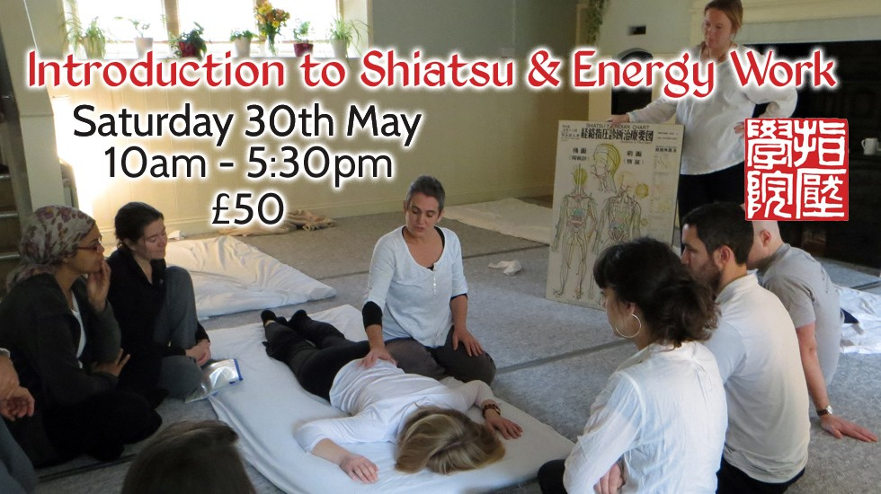 Introduction to Shiatsu & Energy Work