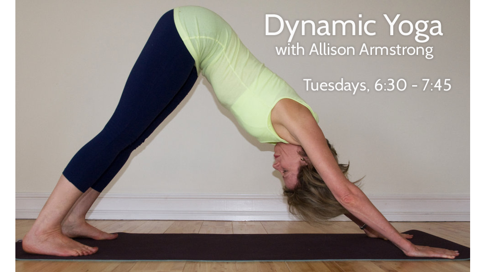Dynamic Yoga with Allison Armstrong