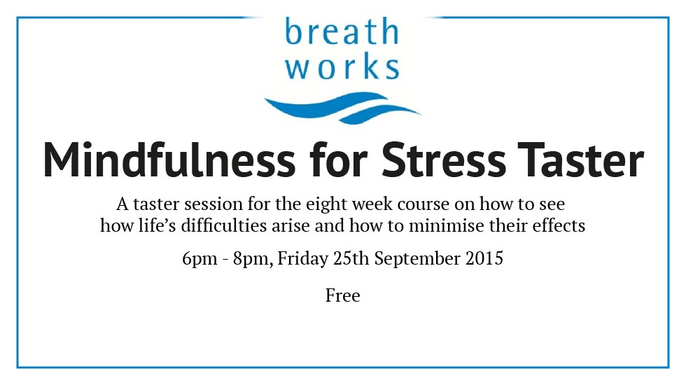 Mindfulness for Stress Taster