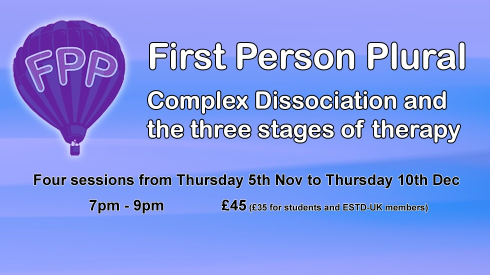 Complex Dissociation and the three stages of therapy