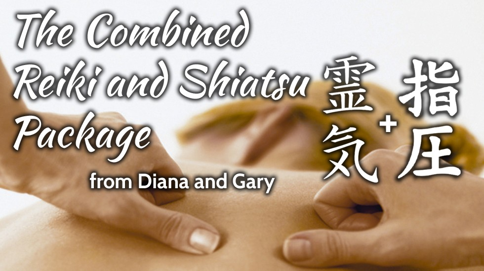 The Combined Reiki and Shiatsu Package