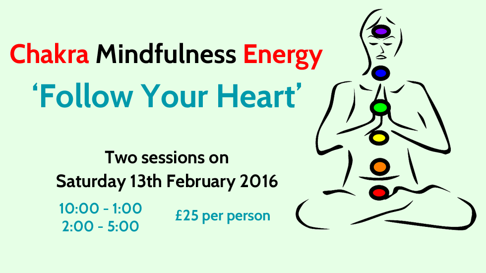 Chakra Mindfulness Energy - Follow Your Heart