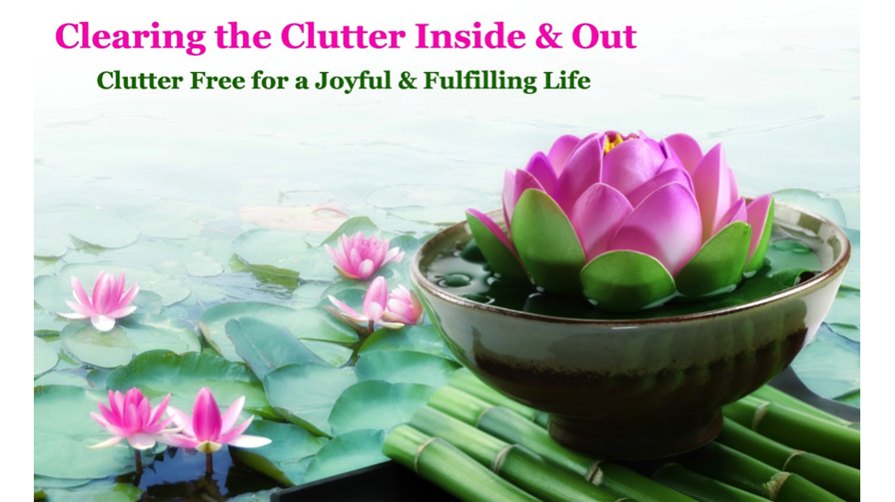 Clearing the Clutter with Sue Bayliss