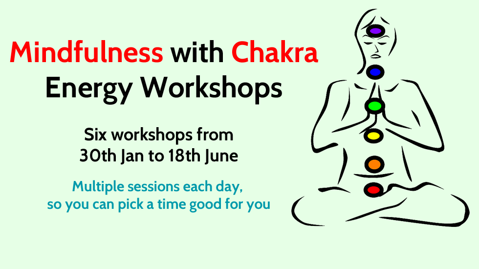 Mindfulness with Chakra energy workshops