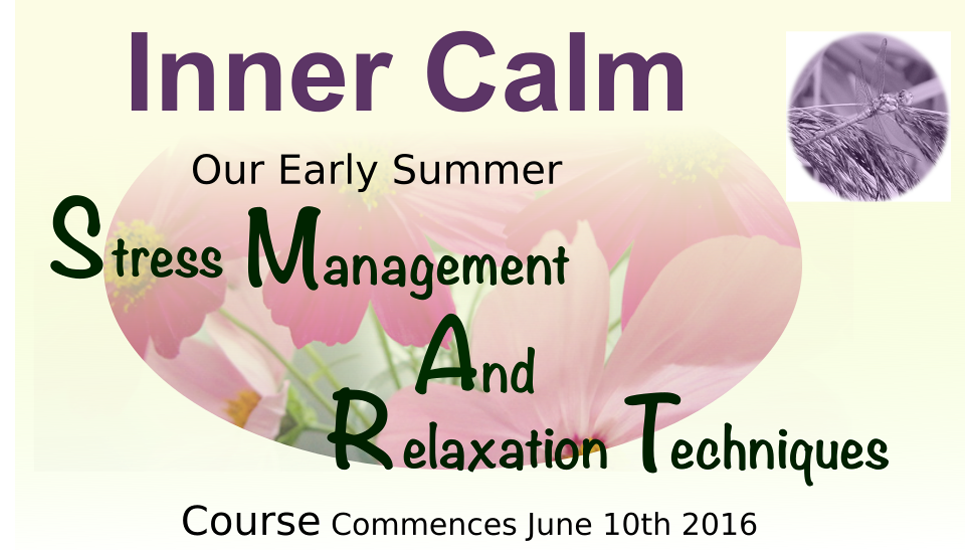 Stress Management and Relaxation Techniques June 2016
