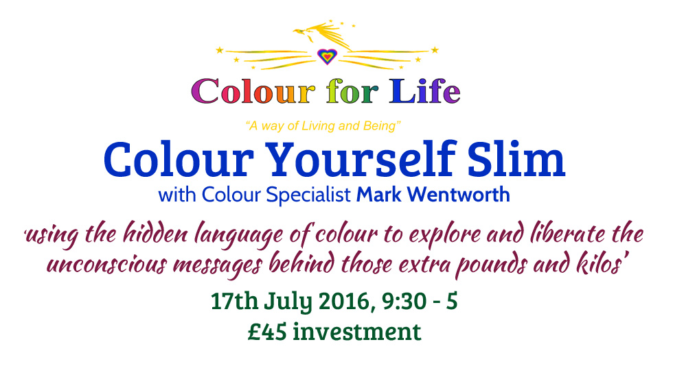 Colour Yourself Slim July 2016