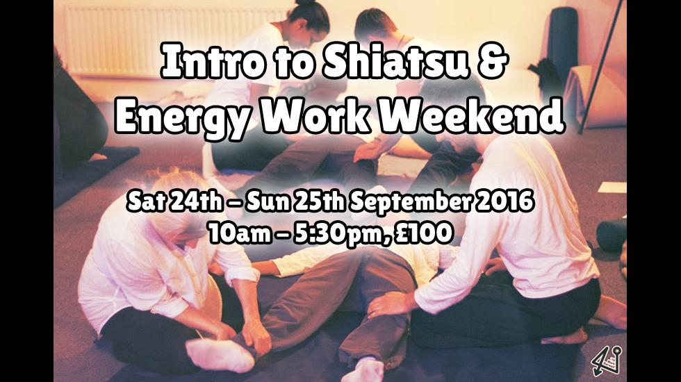 Intro to Shiatsu September 2016