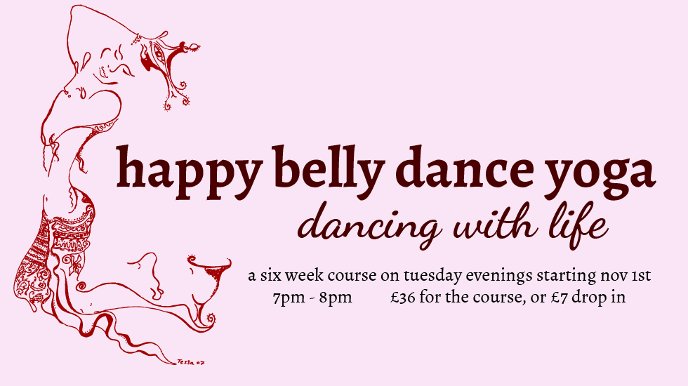 happy belly dance yoga