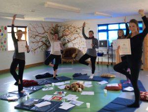 mini me yoga class pic