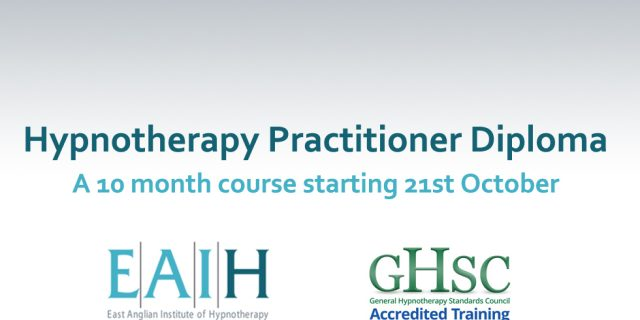Hypnotherapy Practitioner Diploma 2017-10