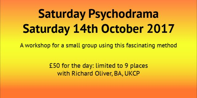 Saturday Psychodrama 2017 October