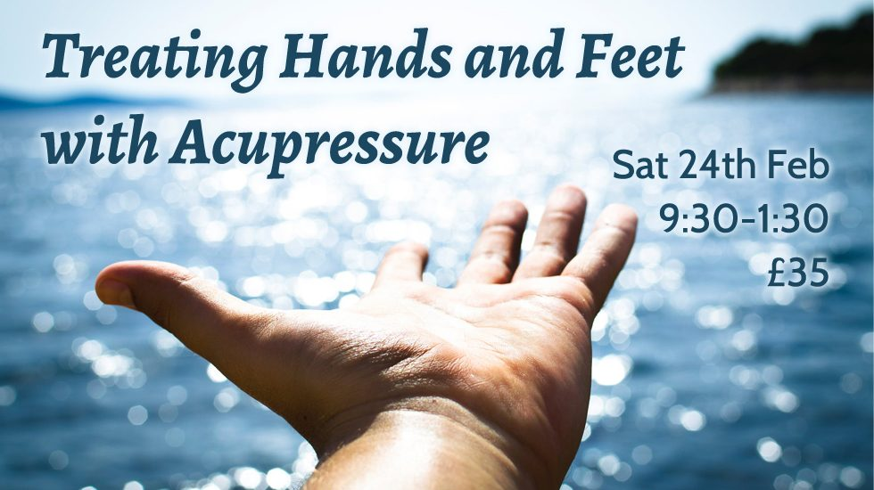 Treating Hands & Feet with Acupressure 2018 Feb