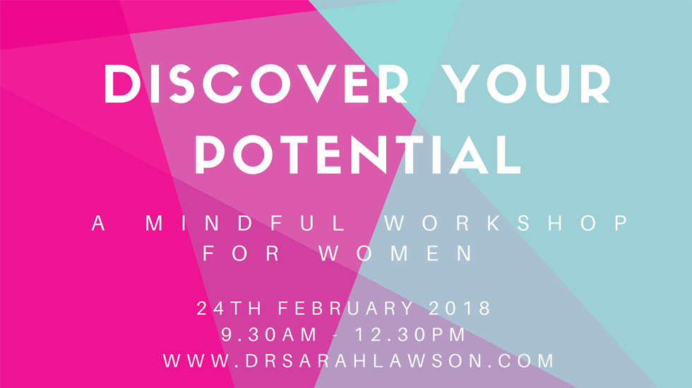 Discover your Potential - a mindful workshop for women