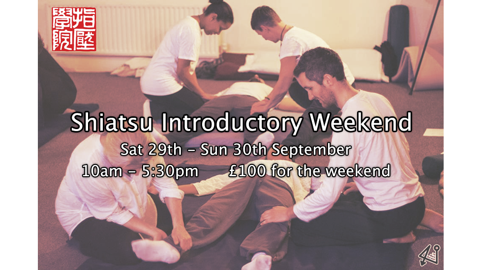 Shiatsu Introductory Weekend 2018-09
