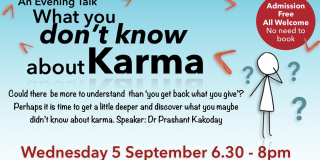 What you dont know about Karma 2018-09