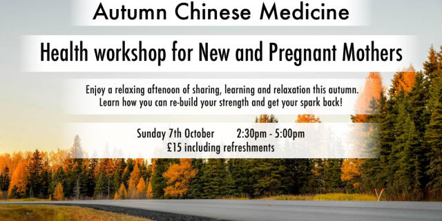 Autumn Health Workshop 2018