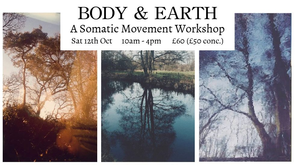 Body & Earth - Somatic Movement Workshop information