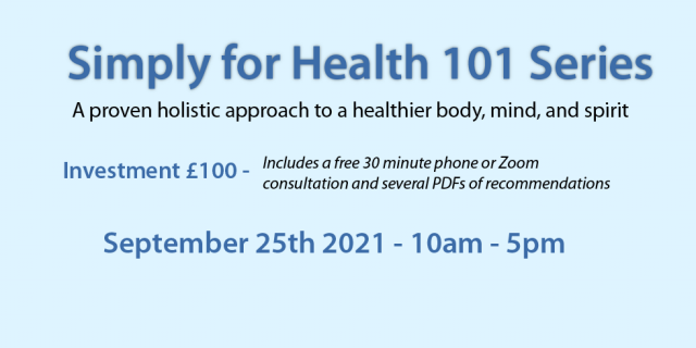 Simply for Health 101 - 2021-09-25